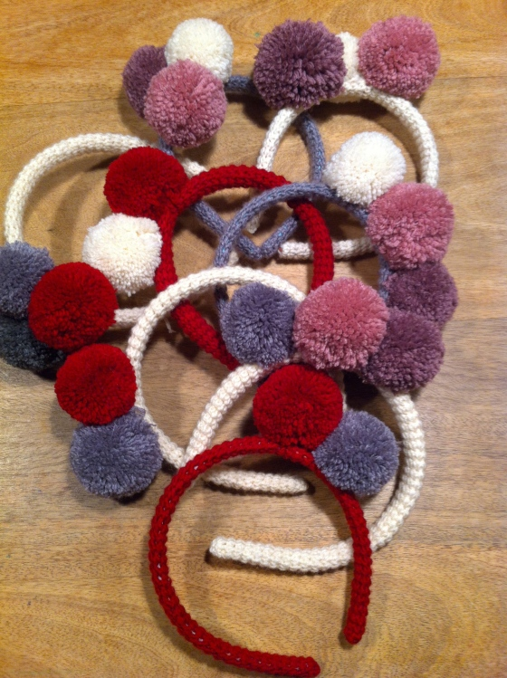 pompon hairband