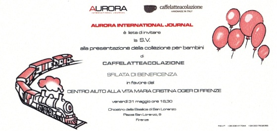 INVITO AURORA - CAFFELLATTEACOLAZIONE