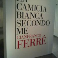 La camicia bianca... secondo Gianfranco Ferré