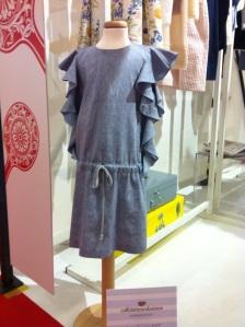 LINEN JEANS DRESS
