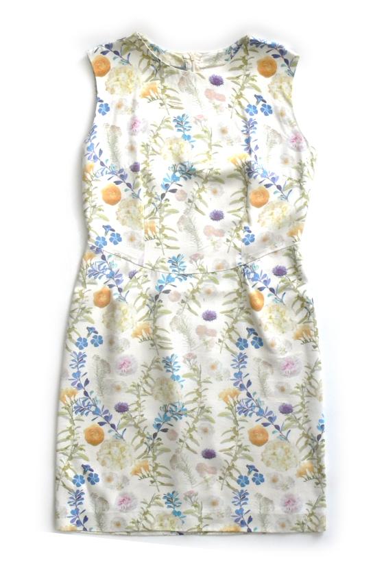WOMAN FLORAL DRESS